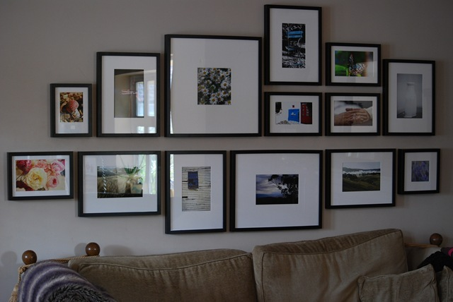 Photos in living room (2)