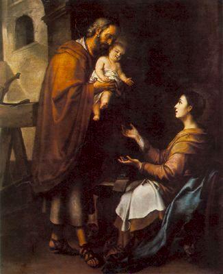 Murillo (ha. 1680), Sagrada Familia, Basílica San Esteban, Budapest