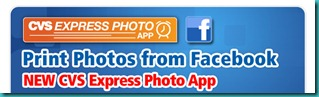 CVS Photo Facebook App