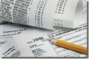 tax paperwork image