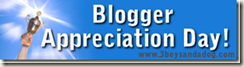 Blogger Appreciation Day Award