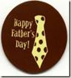 Father's Day borwn tie image