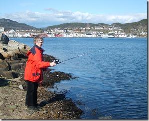 Bjørg fisker 050510