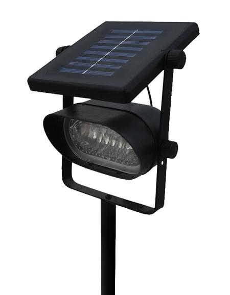 details about accent solar spot light ultra bright 6 led. Black Bedroom Furniture Sets. Home Design Ideas