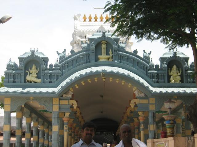 Ashtadasabhuja Durga Darshana - 02. Sree Gnanaprasunambika Temple, Kalahasti