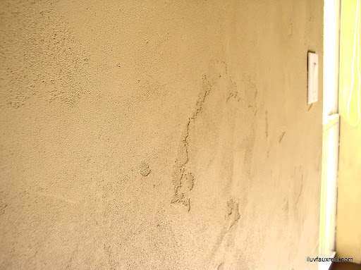 Healthy Home Choices: Close up of stucco textured Old World Finish.