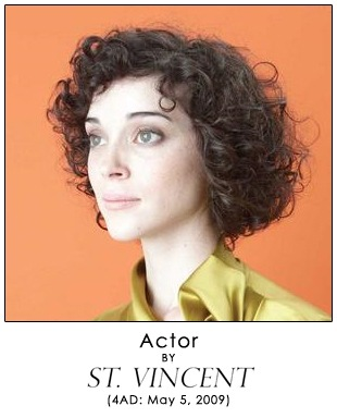 Actor by St. Vincent