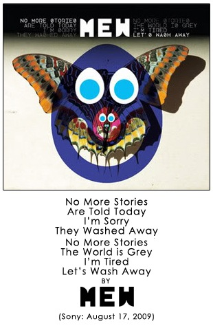 No More Stories/Are Told Today/I'm Sorry/They Washed Away//No More Stories/The World Is Grey/I'm Tired/Let's Wash Away by Mew