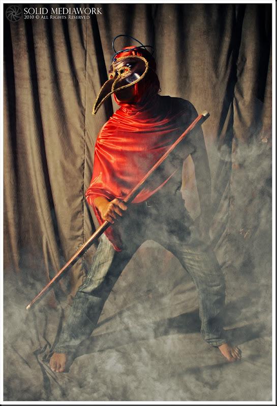 TIONG MAN serangan tongkat