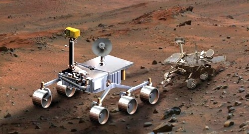 Mars Science Laboratory y Mars Exploration Rover