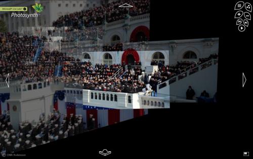 Photosynth investidura de Obama