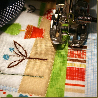 6 machine quilting