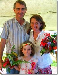 Daniel and Tammy with Rosie