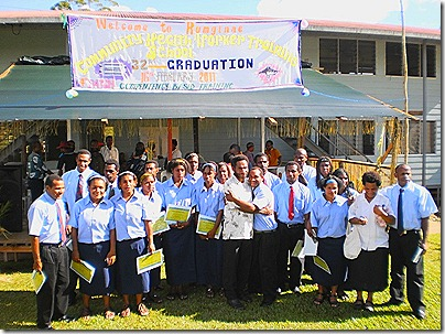 2011 CHW graduation