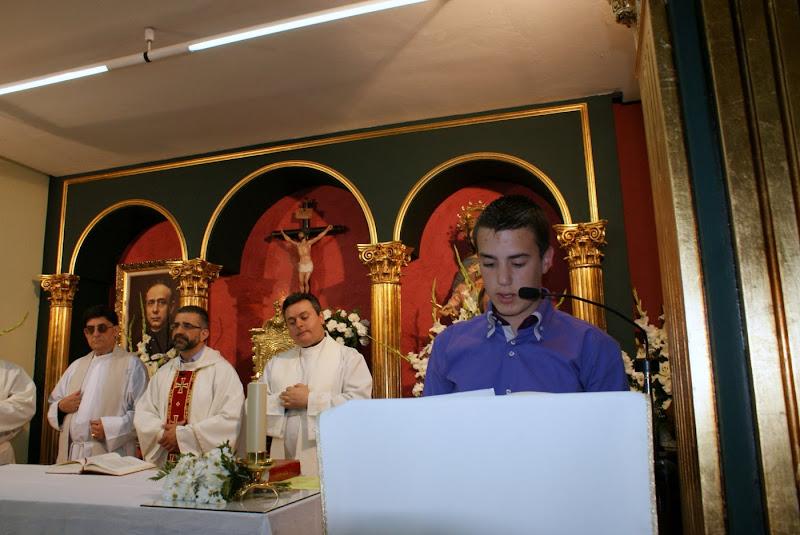 Visita de los jóvenes del Seminario Menor y del Centro Vocacional Manuel Aranda