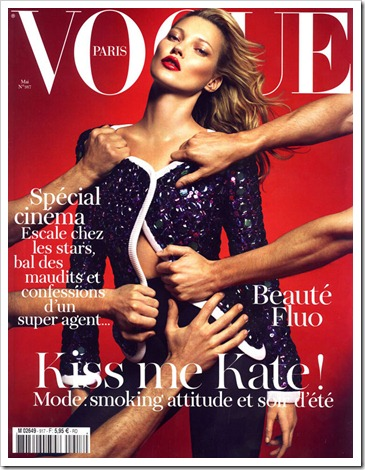vogue paris - may - kate moss