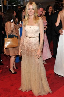 Met gala Naomi Watts Stella mccartney