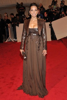 Met gala Alicia Keys Givenchy couture