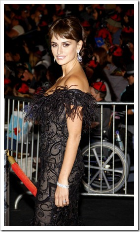 Penelope Cruz Pirates of the Caribbean premier Los Angeles (2)