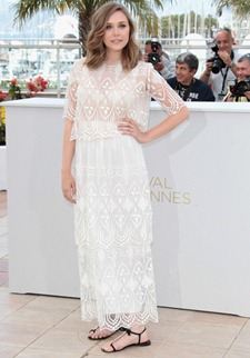 64th cannes film festival Elizabeth Olsen The Row 1