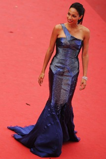 64th cannes film festival Rosario Dawson