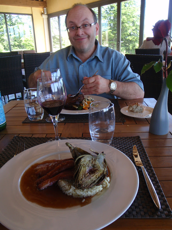 Picture of delicious food at winery