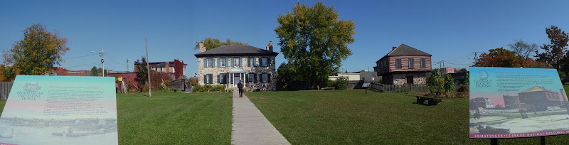 Historic house in the Sault