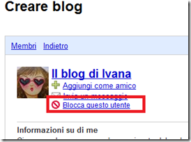 Bloccare Follower