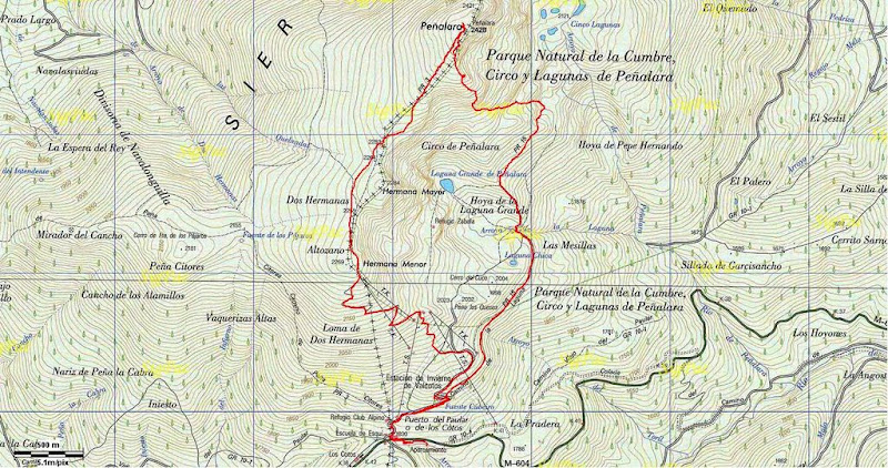 Perfil Espolon Sherpa de los Balcanes