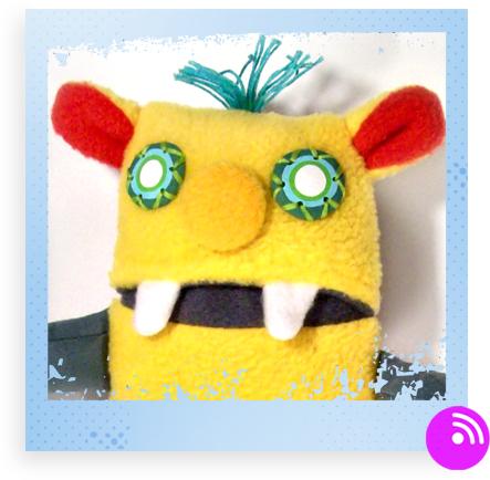 Li'l Tiny Monster by HappyCloud