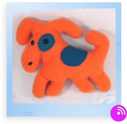 Fleece Doggy by Cuddlet