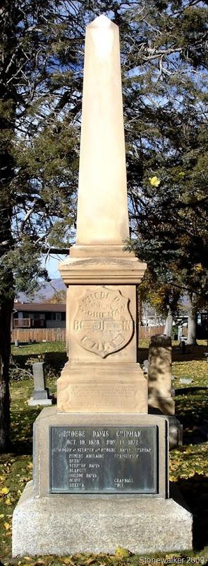 Phoebe Davis Chipman  tombstone
