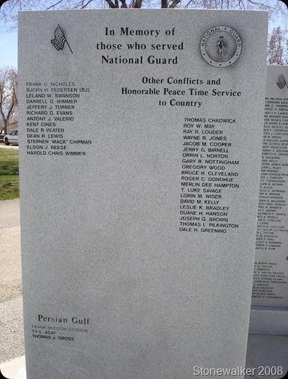 AF Cemetery Gulf Iran Veterans Memorial