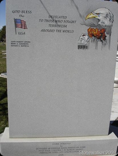 AF Cemetery Terrosim Conflict Veterans Memorial