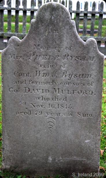 Glober Phoebe Mulford headstone_sm
