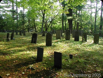 Sanborn Cemetery Bristol Grafton New Hampshire 2