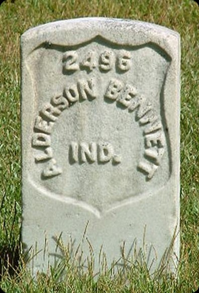 Bennett Alderson headstone2