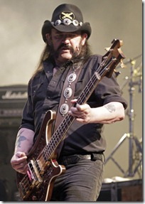 Lemmy Kilmister, bassist of Motorhead, performs during the 35th Paleo music festival in Nyon July 20, 2010. REUTERS/Denis Balibouse (SWITZERLAND - Tags: ENTERTAINMENT)