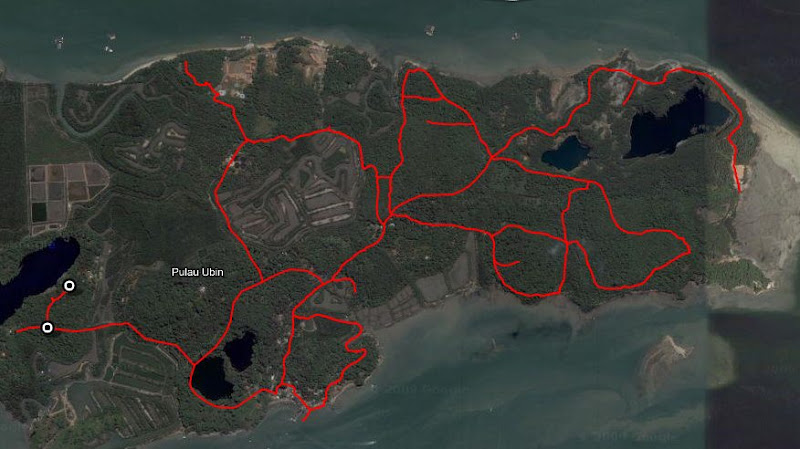 Ubin kml outline
