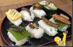 Sushi de Inseto 01