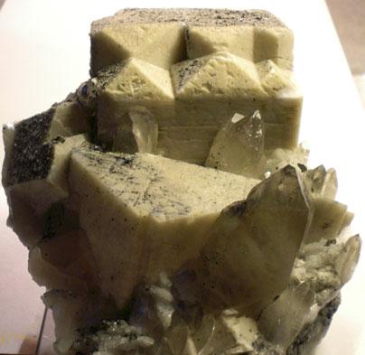 Albita, cuarzo y microclina-Albite, quartz & microcline
