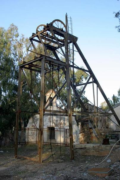 Mina La Cruz: pozo La Unión