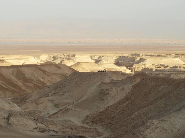 Okolice Masady...