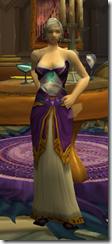 Sleeveless Purple Dress