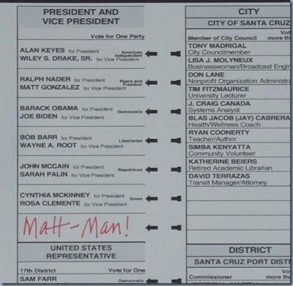 vote mattman