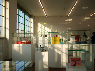 Sylvie Fleury mamco 2008 musée