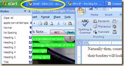 work background highlighting internet