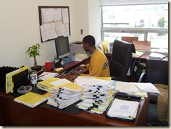 dorian in office smaller