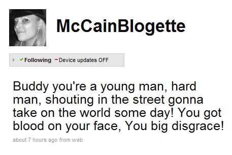 meghan mccain twitter photo. A tweet from Meghan McCain