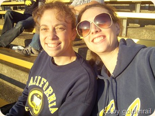 cathy and me at cal game